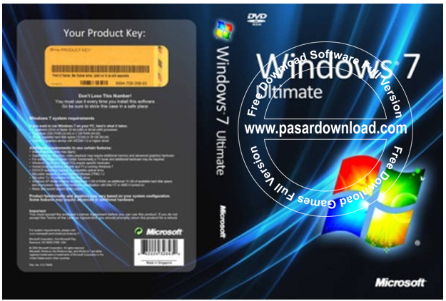 Download Gratis Windows 7 Ultimate Sp1 x86 Update Maret 2014 ISO File