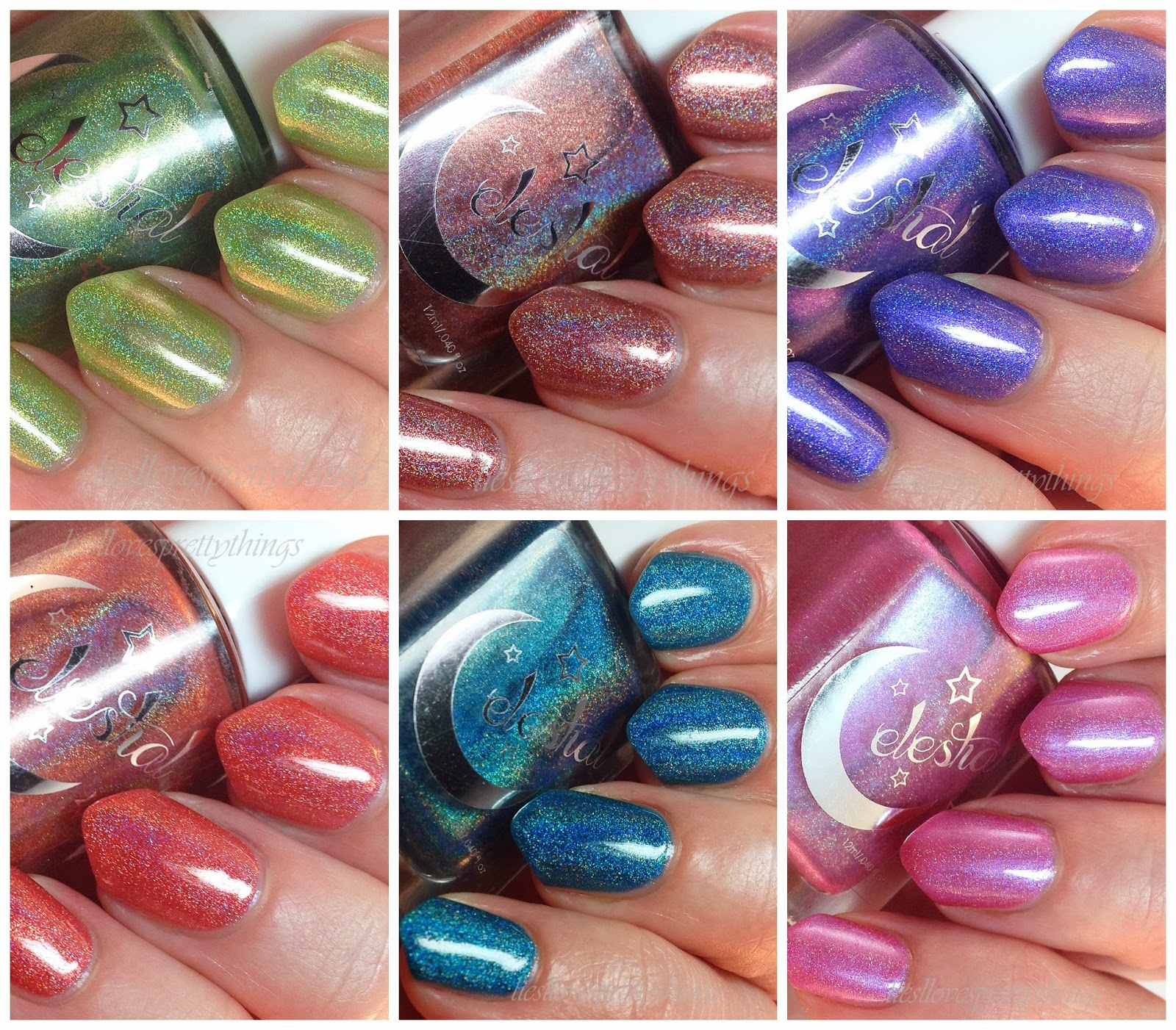 Celestial Cosmetics holo polish swatch and review