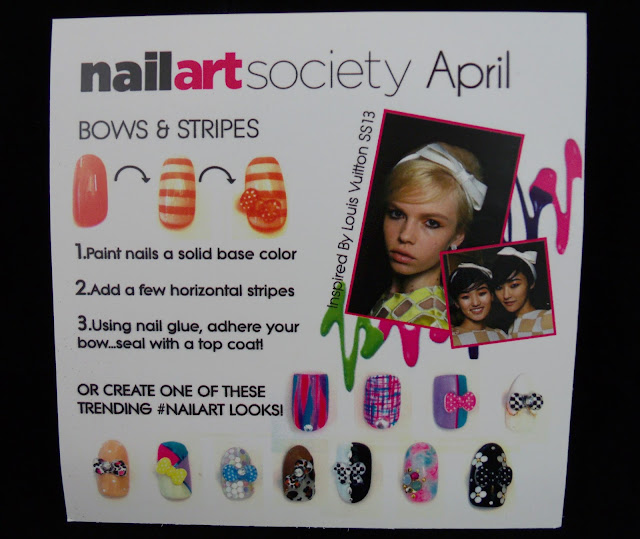 April Nail Art Society