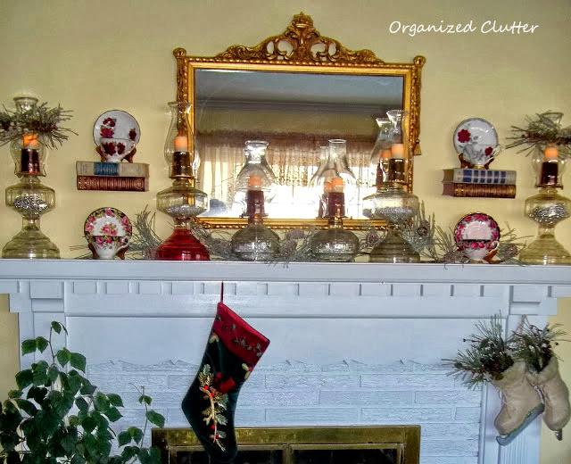 Romantic Christmas Mantel