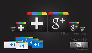 tombol Google Plus