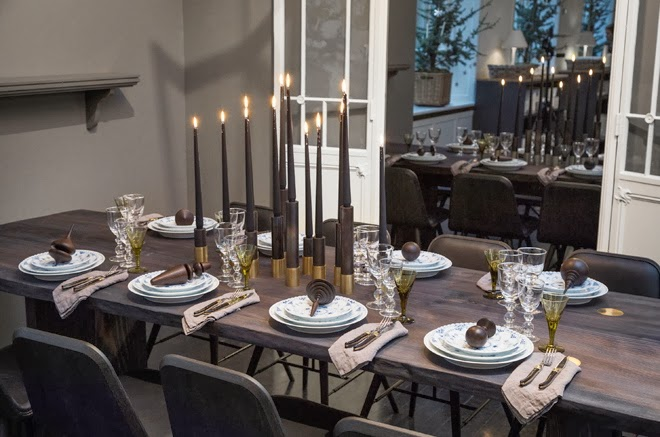 Anya adores royal copenhagen christmas tables