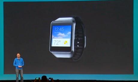 Παρουσίαση του Gear Live  έξυπνου  ρολογιού της Samsung
