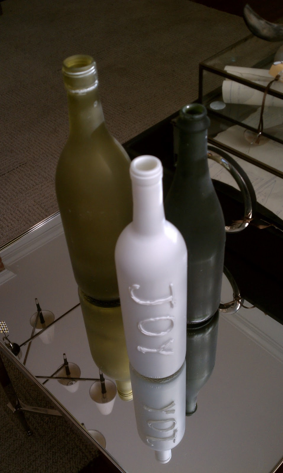 Chet pourciau design diy wine bottle vase diy wine bottle vase floridaeventfo Gallery