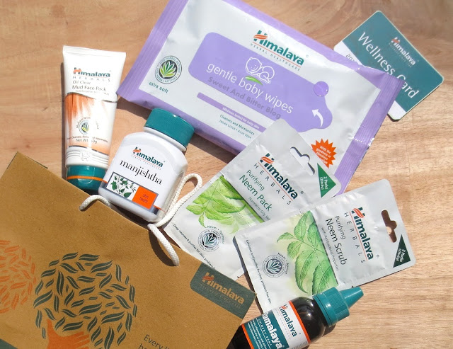 Himalaya Herbals Oil Clear Mud Face Pack, Gentle Baby Wipes, Manjistha Capsules, Rumalaya, Neem Scrub and Neem Face Pack