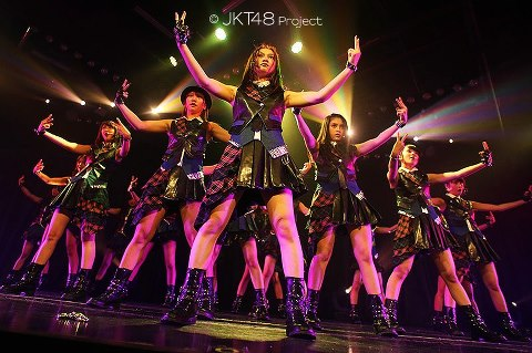 Dhike jkt48 river