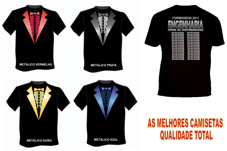 Camiseta De Formatura