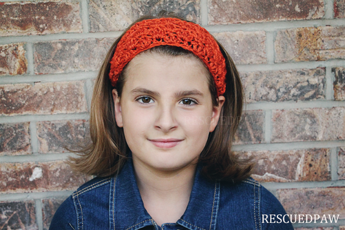 free crochet pattern tie together headband