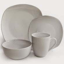 Waverly Geometry 16 Piece Set This dinnerware set is simple clean and has a modern look perfect for those that want something that will match everything ... & Dr. Dinnerware: 10 Dinnerware Sets for College Students
