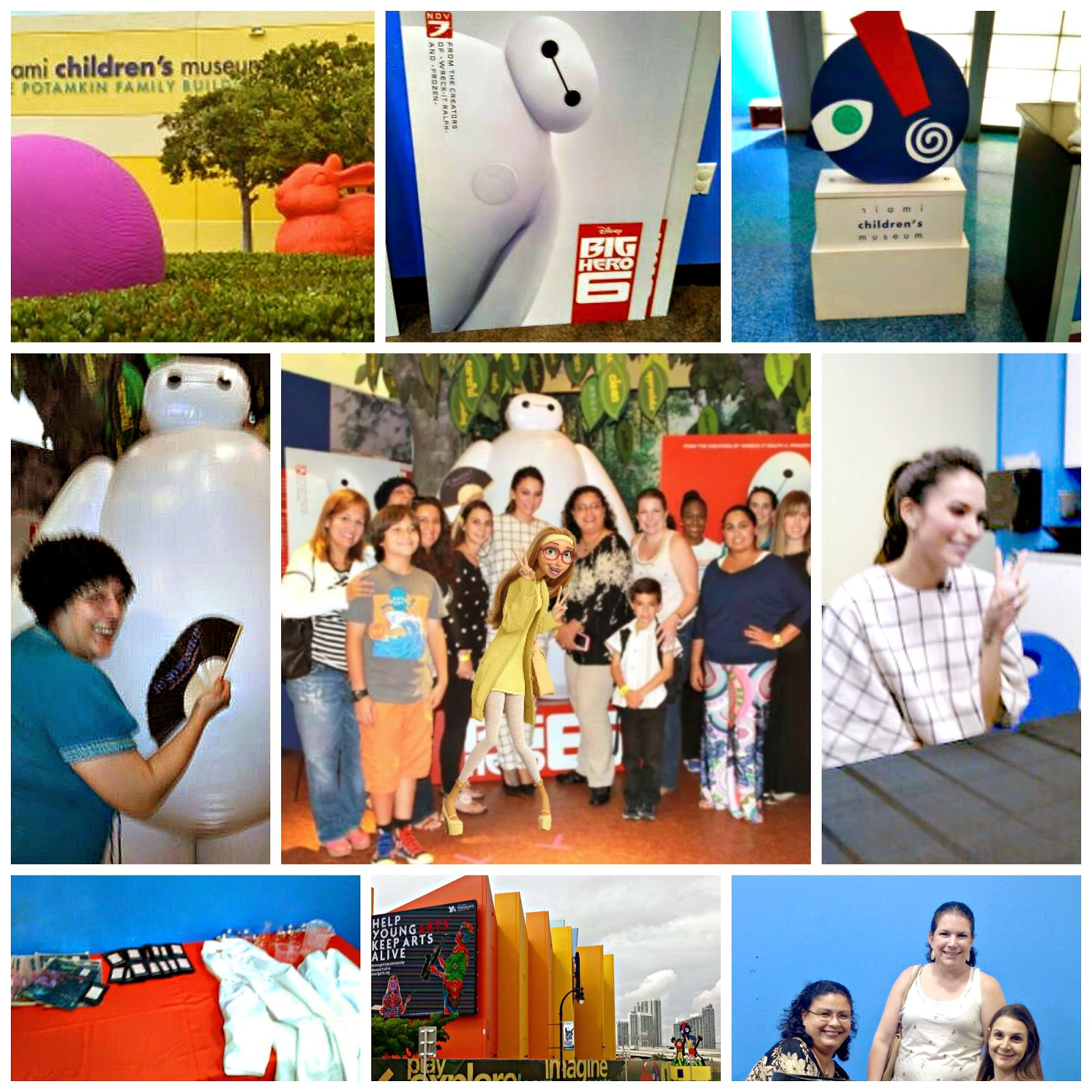Big Hero 6 Honey Lemon Genesis Rodriguez Baymax Miami Children's Museum