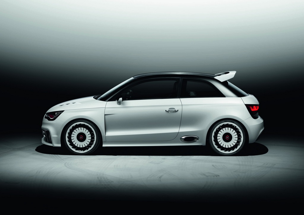Audi A1 Clubsport Quattro Car Audio System And Modifications
