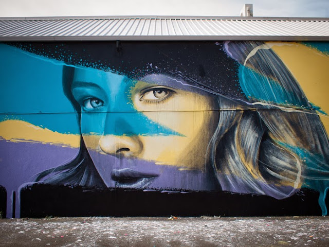 New Street Art Murals By Australian Artist RONE in Juarez, Mexico and Brunswick, Australia. 3