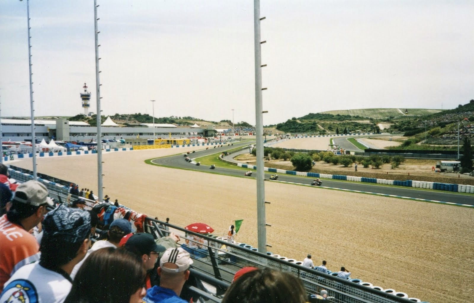 Curva Ferrari del circuito de Jerez