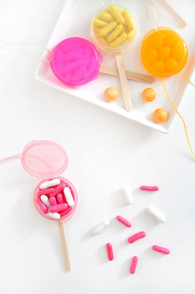 Lollipop Favour Necklaces