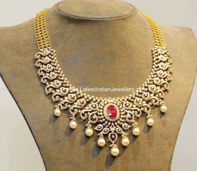 Diamond Necklace from Hiya