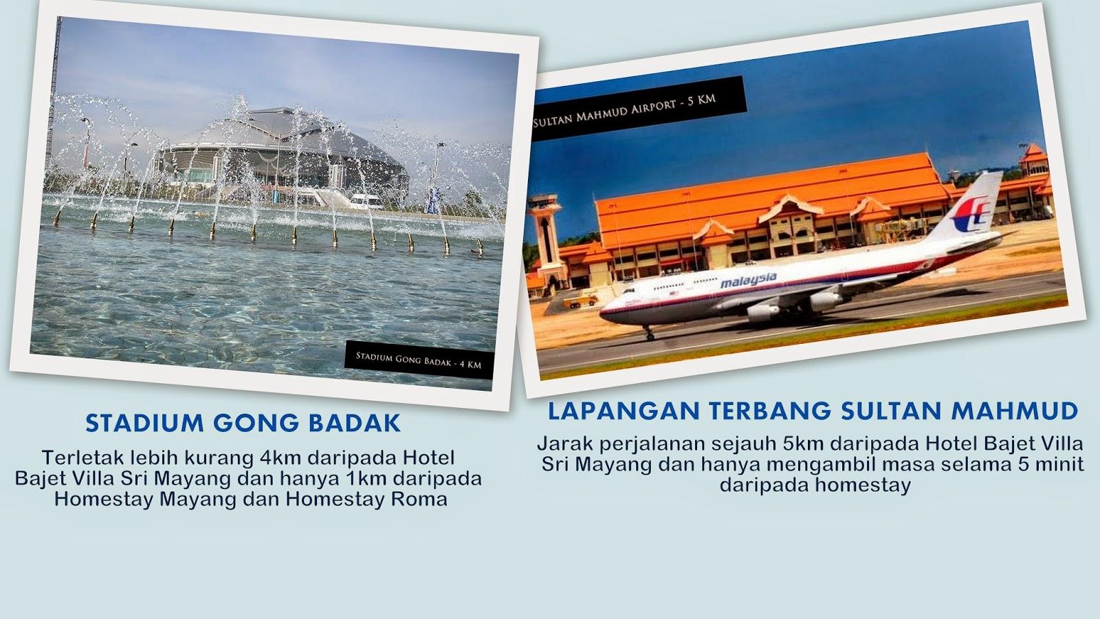 Hotel Bajet Homestay Di UMT UNISZA STADIUM Kuala Terengganu