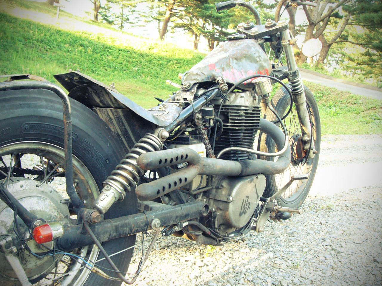 Free The Wheels Suzuki Savage Rat Rod
