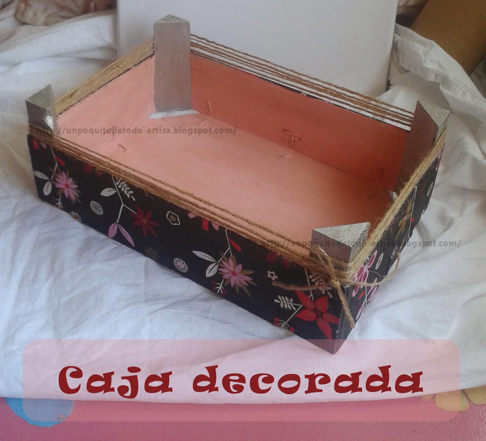 Un poquito de todo cajas decoradas - Cajas de fresas decoradas paso a paso ...