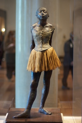 Little Dancer of Fourteen Years by Degas, c. 1881