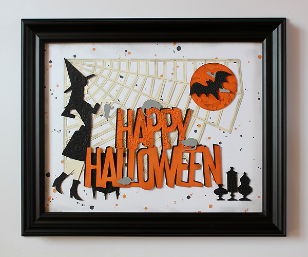 Happy Halloween Frame by Juliana Michaels