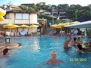 Estuvimos en el HOTEL VILLE LA PLAGE. Esta es la piscina del Club de Playa .
