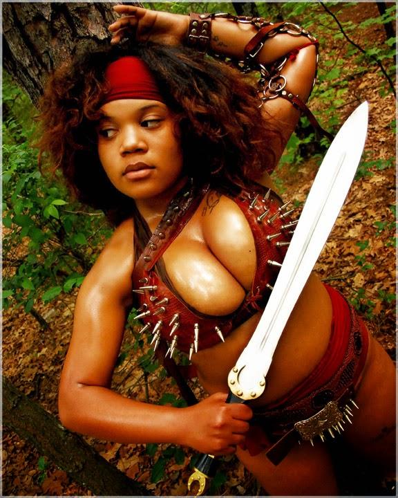 guerrière soutien-gorge en cuir avec pointes