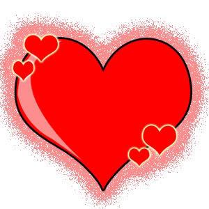 Veliko crveno srce ljubavne slike