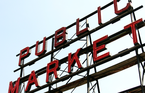 pike place market pacific northwest travel photography