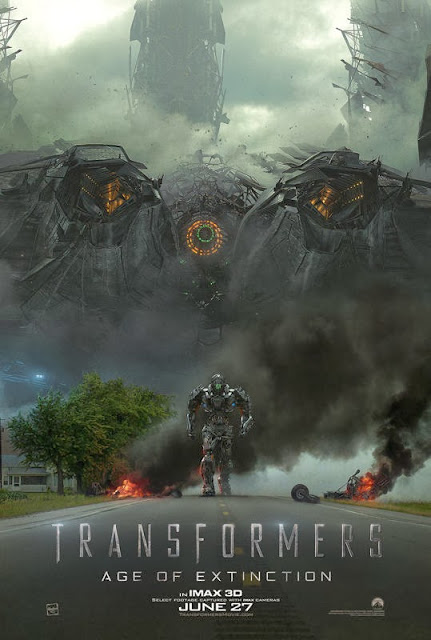 IMAX poster Transformers 2014 Age of Extinction poster