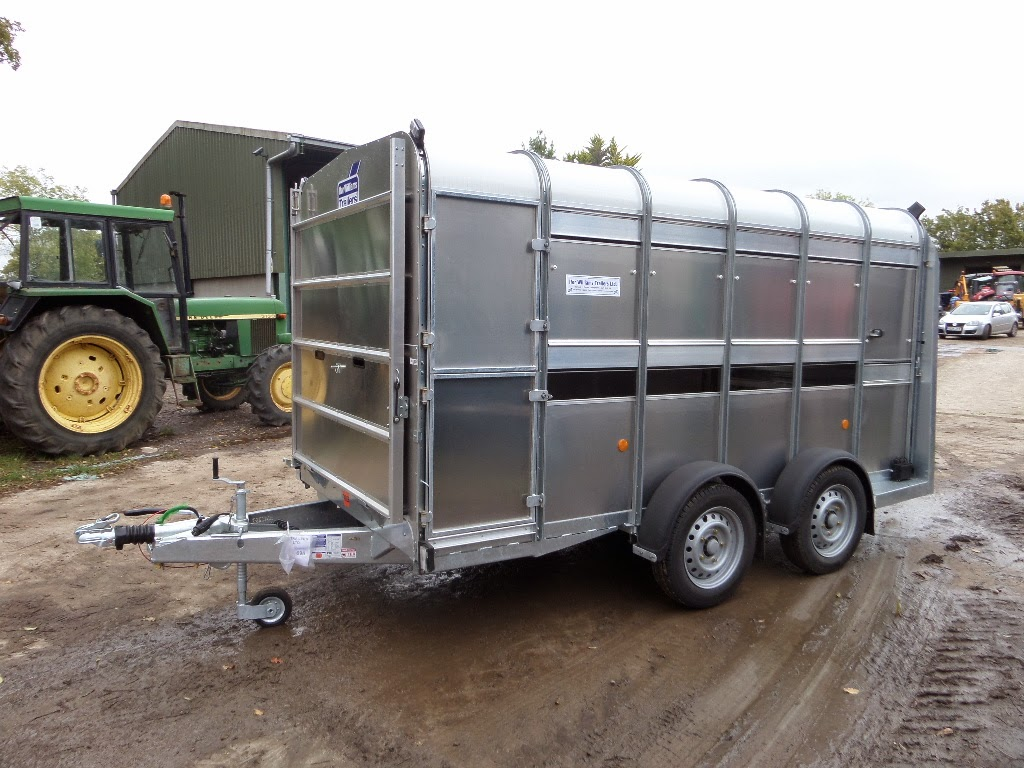Used Tractor Trailers : Used tractors machinery and plant ifor williams ft