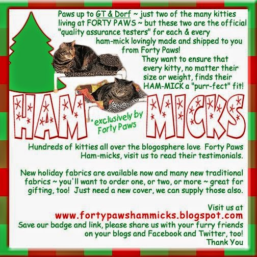 Forty Paws Ham-Micks for the Holidays