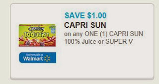 Capri Sun Printable Coupon