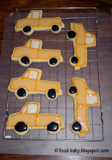 Truck Cookies © food-baby.blogspot.com All rights reserved