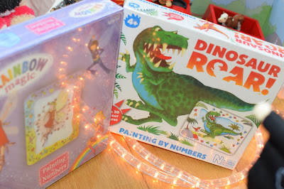 Paul Lamond Paint by Numbers rainbow magic and dinosaur roar - Christmas gift guide 2015 - Emma in Bromley