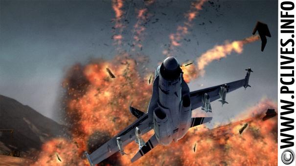 download full and free pc game Top Gun Hard Lock 2012
