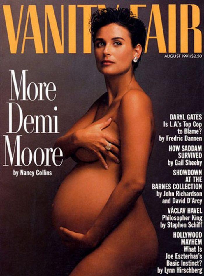 Sin ropa y en Hollywood ¿Qué famosas posaron desnudas