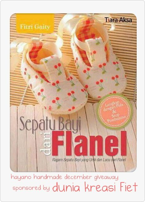 december giveaway by dunia kreasi fiet