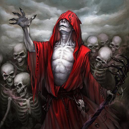 Necromancer, FFG por maruhana-bachi
