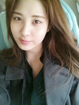 [CAP] Seohyun SELCA + mensaje 130501seo
