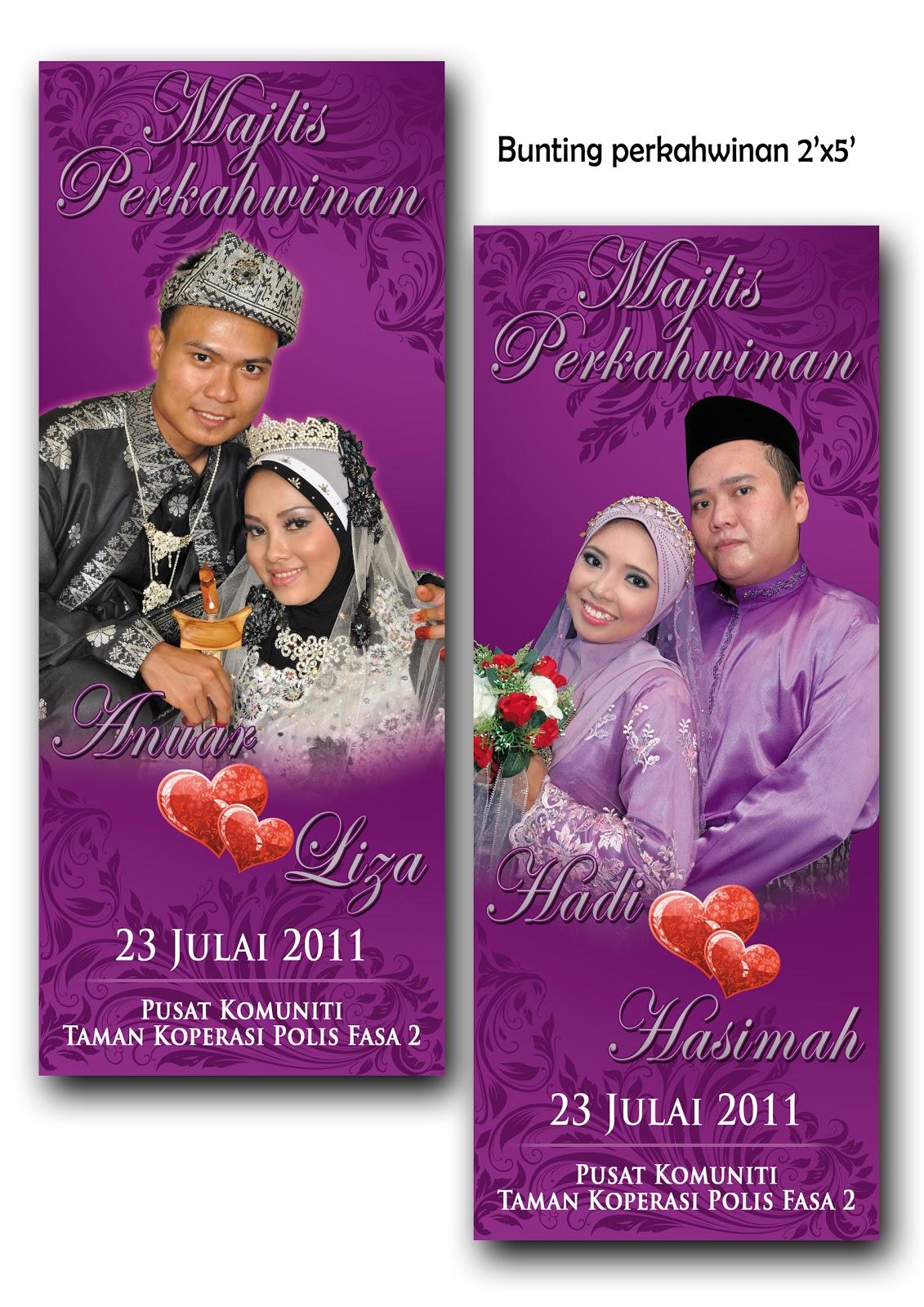 Bunting Perkahwinan