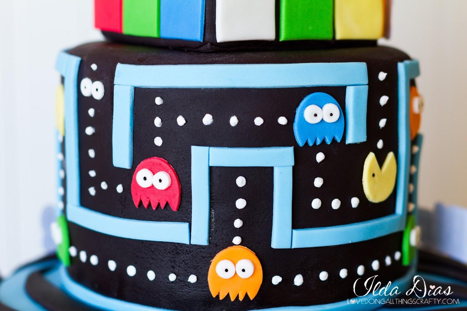 I Love Doing All Things Crafty 80s Themed Cake Bonus Timlapse Videos