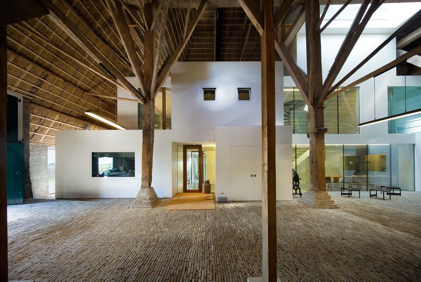 Casa fattoria in olanda by jelle de jong architekten arc for Piccola fattoria moderna