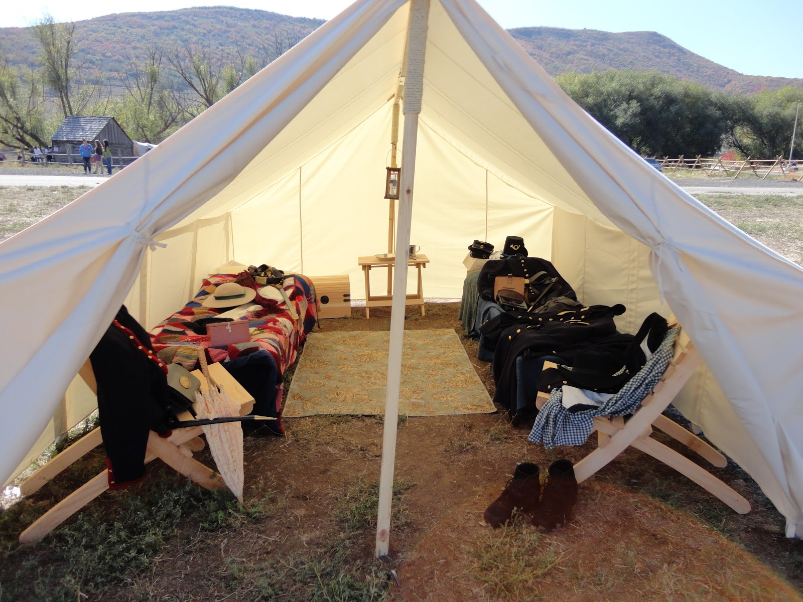 Civil War Tents : The adventures of j and k soldier s hollow heber valley