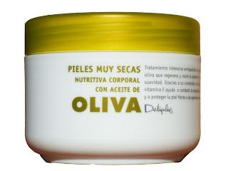 Crema de aceite de oliva de Deliplus