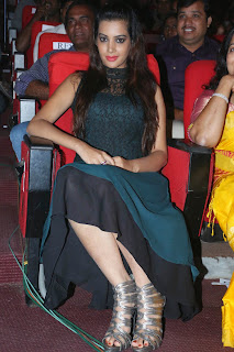 Actress Deeksha Panth Picture Gallery at Manam 100 Days Event  005