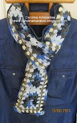 ✿Mis bufandas a Crochet:✿
