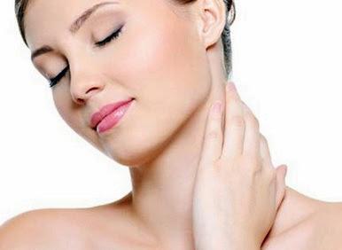 cara memutihkan kulit leher secara alami