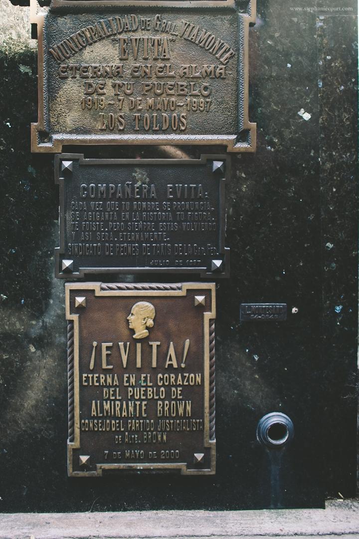 """""""evita's grave argentina"""""""