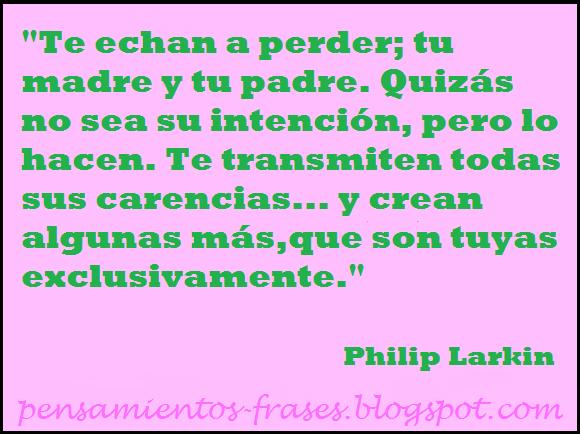 frases de Philip Larkin