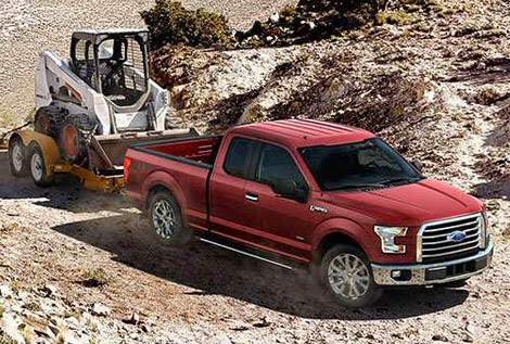 Ford Reveals 2015 F-150 Max Towing & Hauling Rates